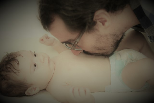 Daddy's and baby colic